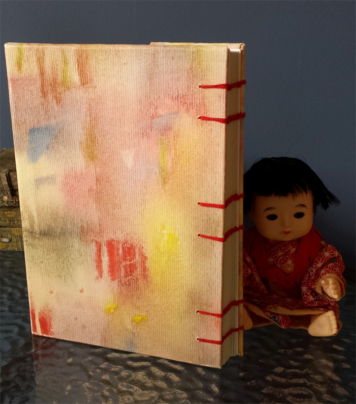BACK COVER WITH DOLL